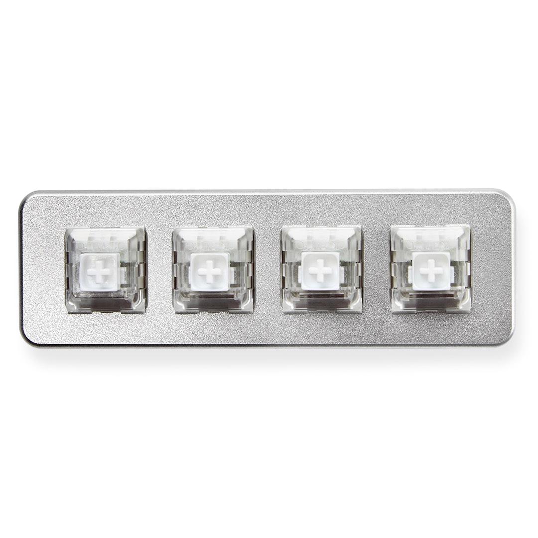 XD004 Hot-Swappable 4-Key Aluminum Macro Pad