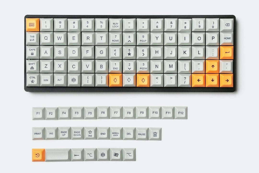 75-Key Aluminum Mechanical Keyboard
