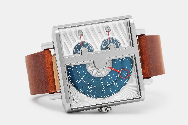 Xeric Soloscope Squared Quartz Chronograph Watch