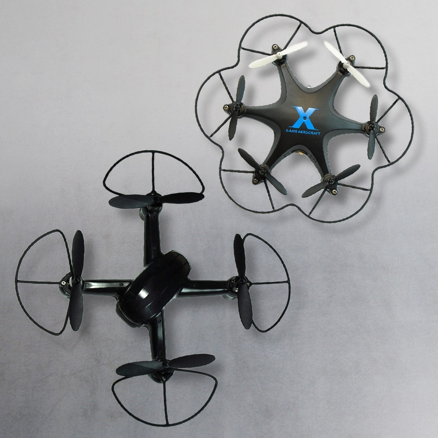 XR-7 Worlds Smallest Hex or Max Speed 3D Stunt Quad
