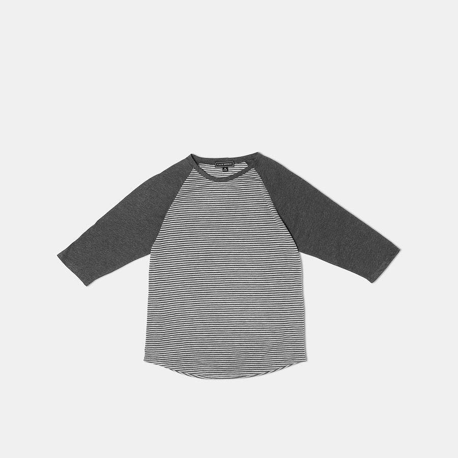 Y & H Designs 3/4-Sleeve Raglan Crew