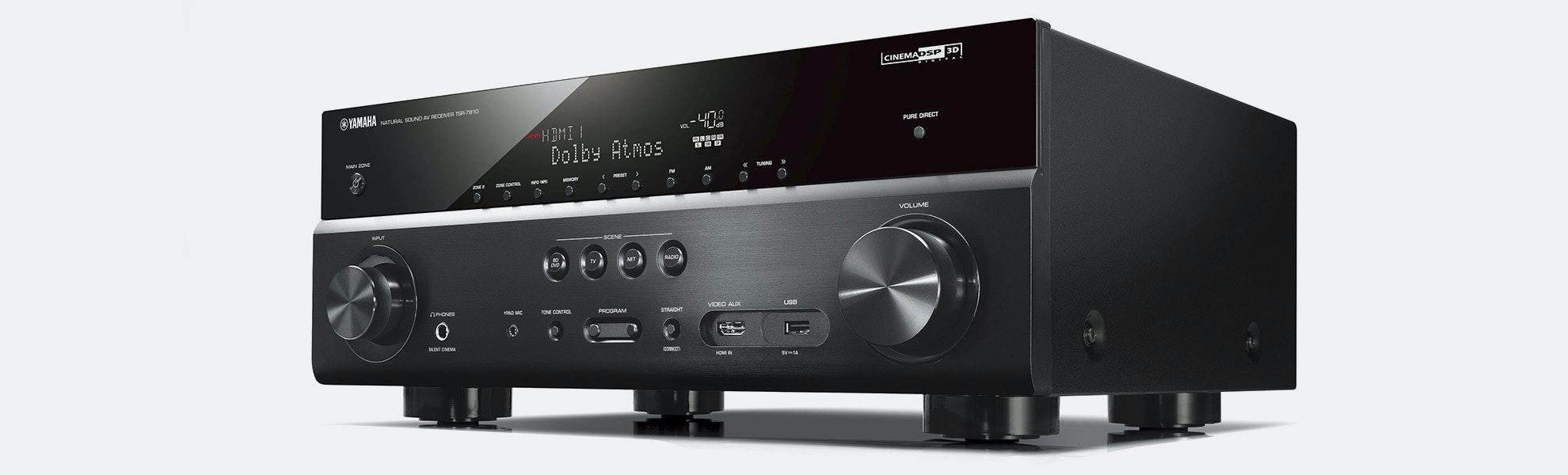 Yamaha 7.2ch 4K HDR Dolby Atmos Receiver (Refurb)