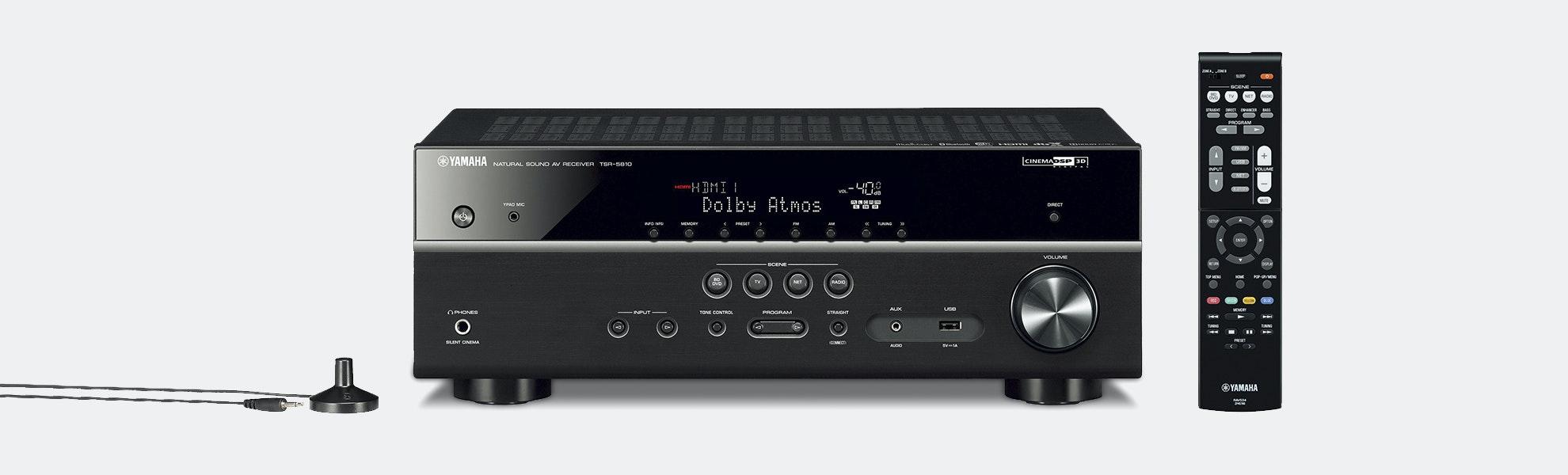 Yamaha TSR-5810 7.2ch 4K Ultra AV Receiver (Refurb)