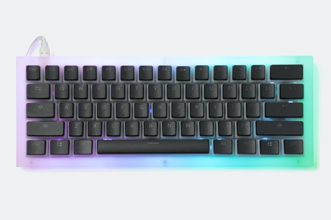 YMDK CNC Acrylic 60% Mechanical Keyboard Kit