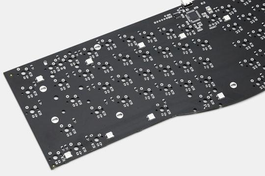 YMDK Wings Ergonomic Custom Mechanical Keyboard Kit
