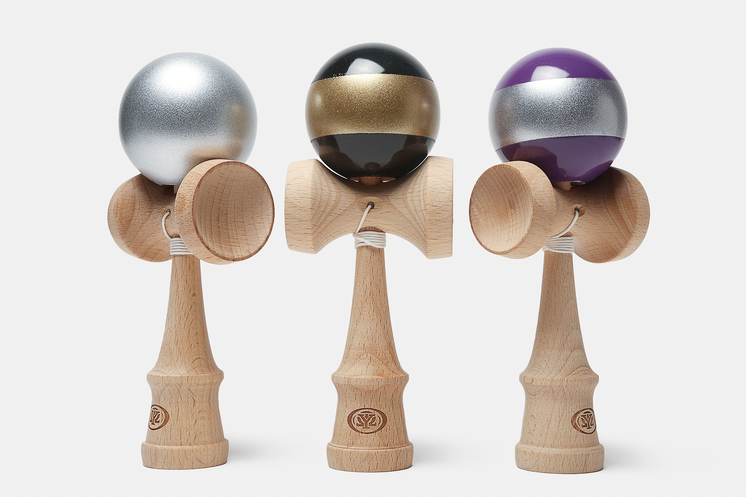 Yomega Kendama Pro Metallic & Striped (3-Pack)