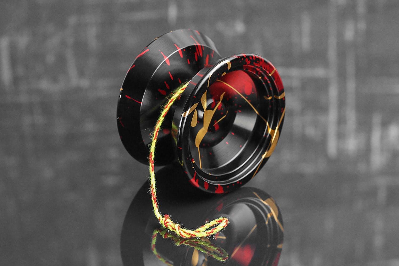 Black/Red/Gold