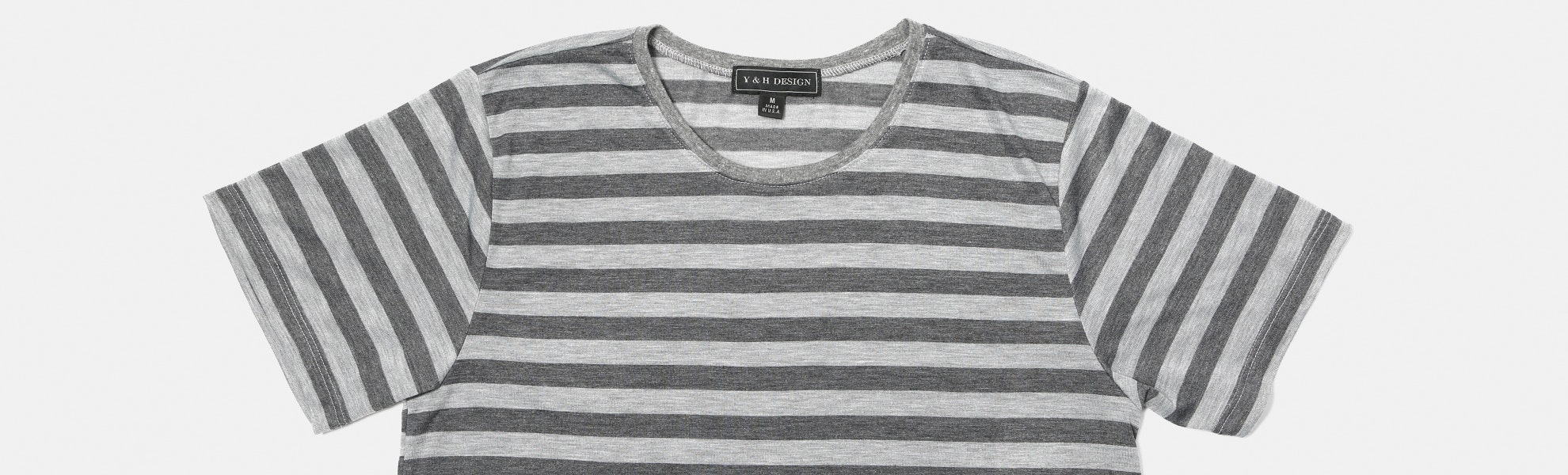 Young & Hip Edward Striped Tees