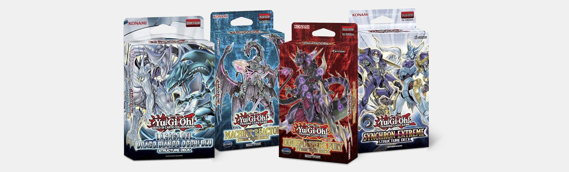 Yu-Gi-Oh! Structure Deck Bundle (4 Decks)