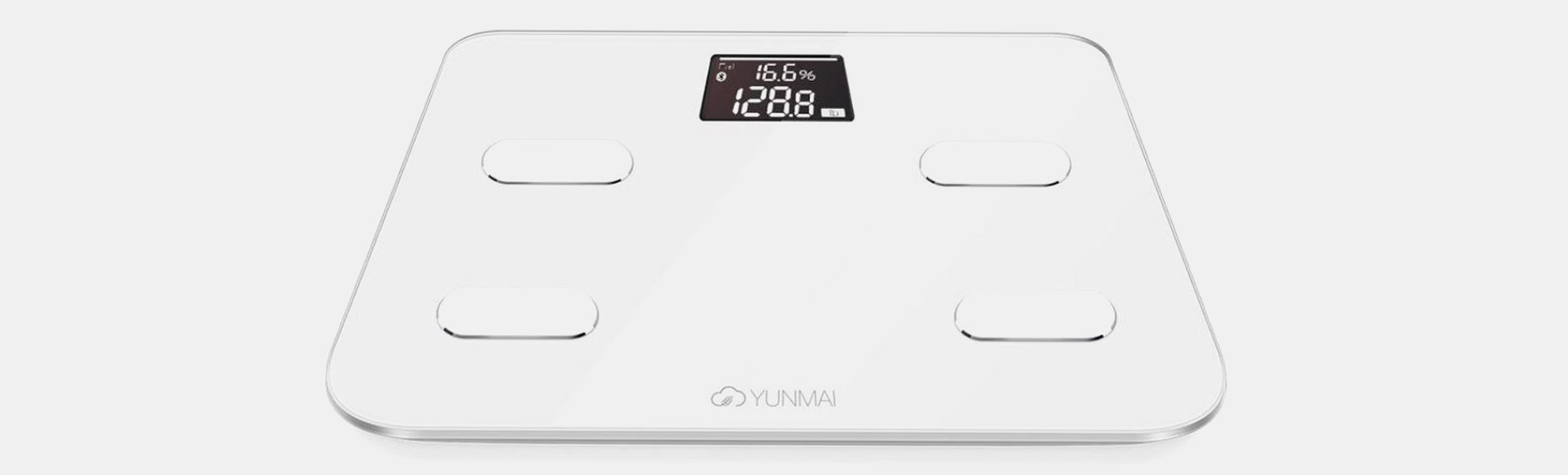 Yunmai Color Smart Scale w/10 Precise Measurements