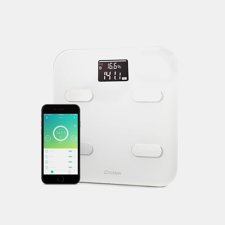 Yunmai Color Smart Scale w/10 Precise Measurements
