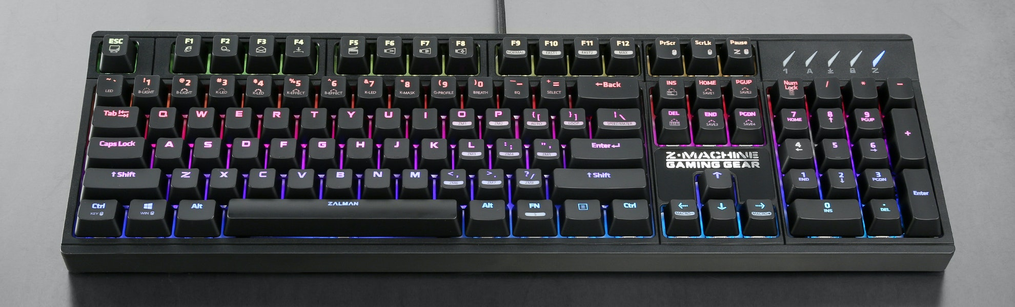 Zalman K900M Mechanical Keyboard