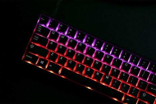 Zeal60 RGB LED PCB (Rev 4 with USB-C)