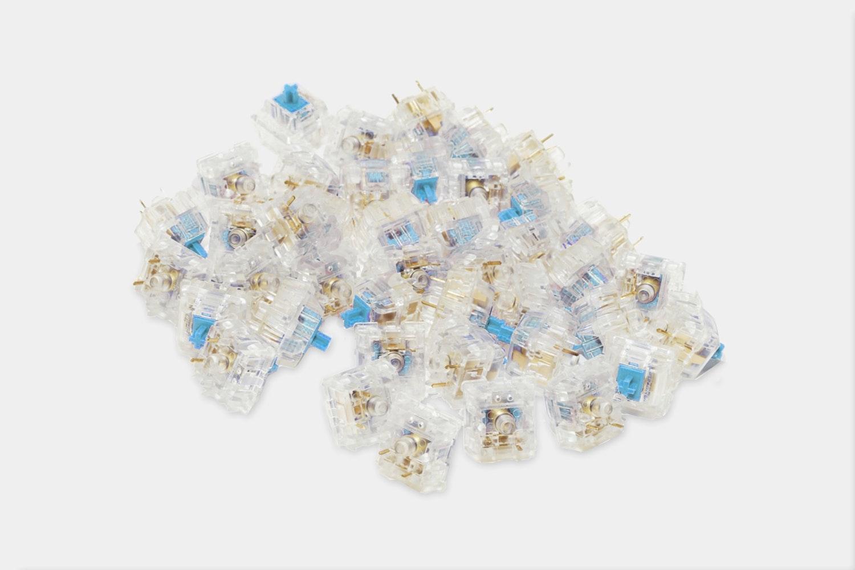 Zilents - 65G - Tactile (Blue)