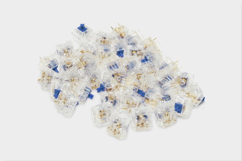 Zilents - 67G - Tactile (Blue)