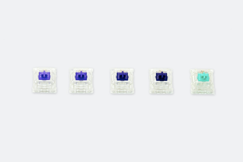 Zeal PC Tealios / Zealios V2 / Zilents V2 Switches