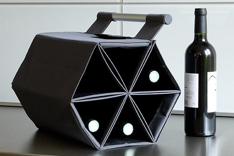 Zebag Wine Bottle Carrying Case