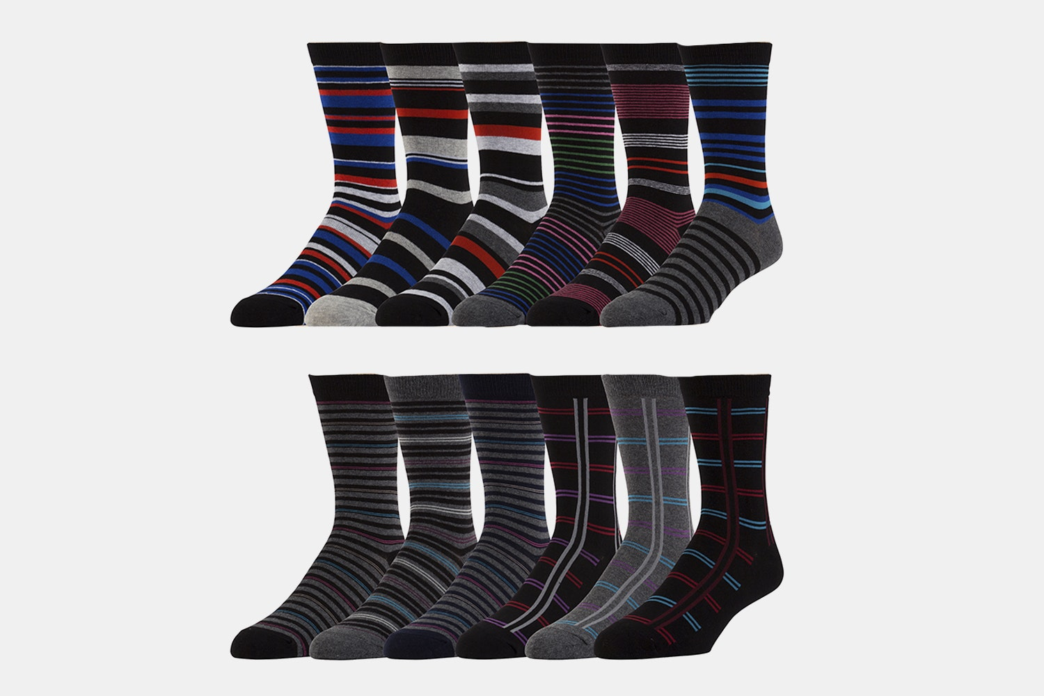 Assorted Striped Designs