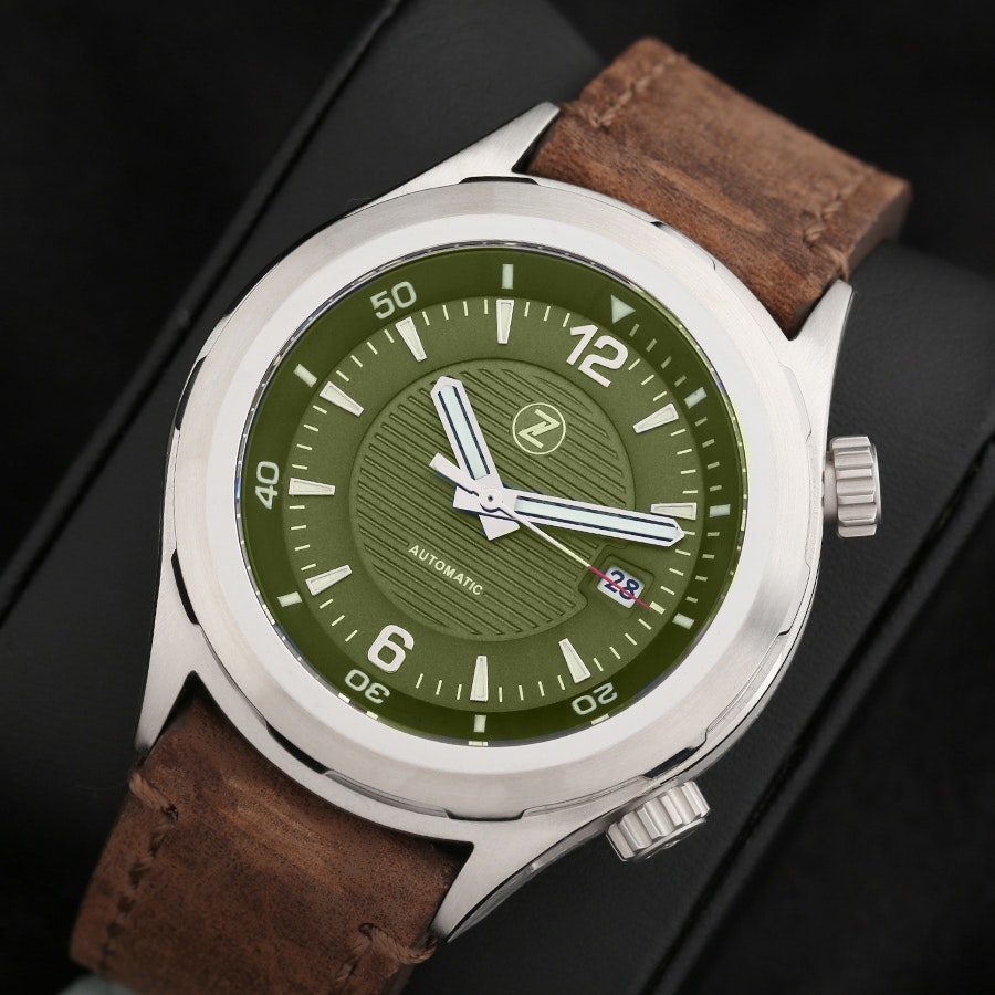 Zelos Helmsman Watch