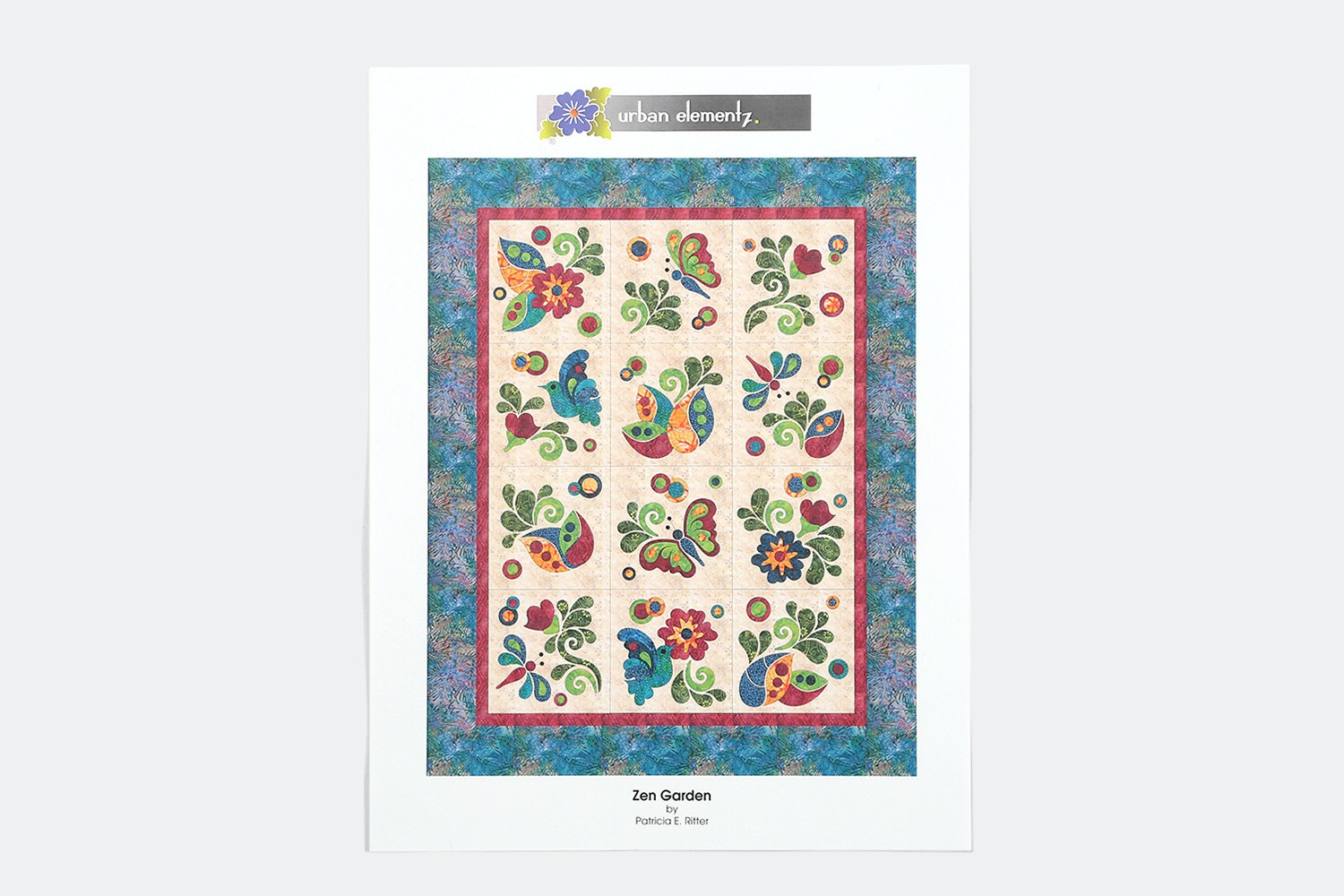 Zen Quilt Kit by Urban Elementz