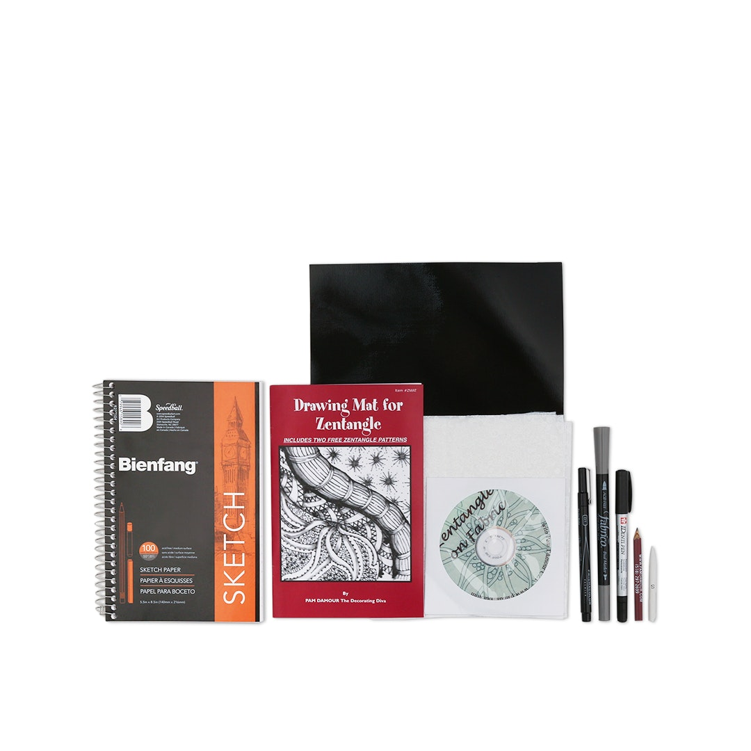 Zentangle Starter Kit by Pam Damour