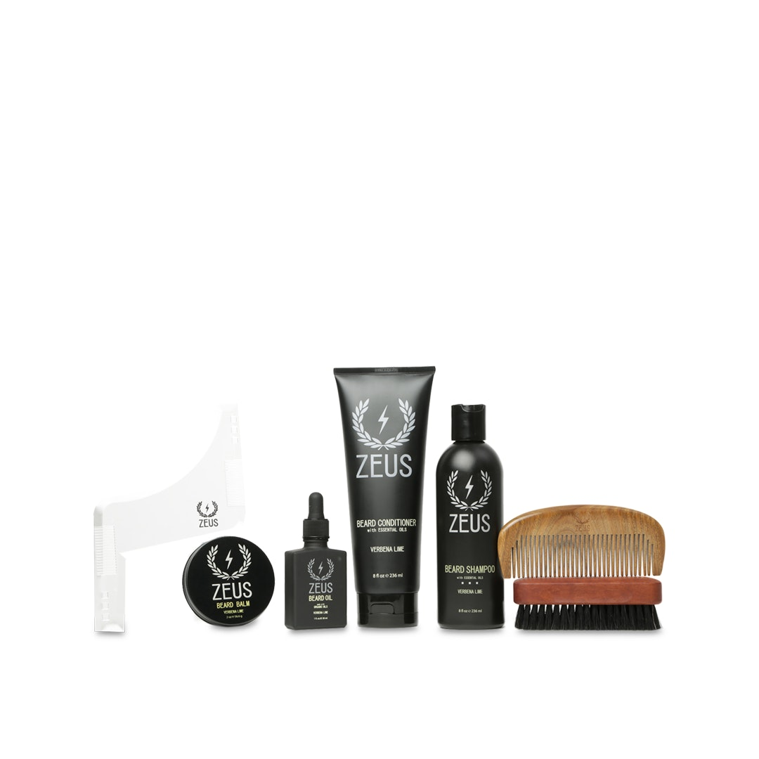 Zeus Beard Care & Grooming Set