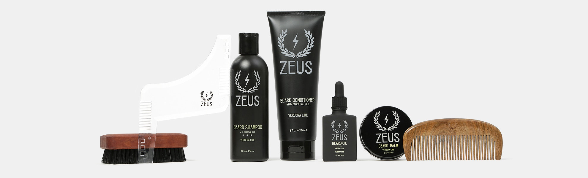 Zeus Beard Care & Grooming Set