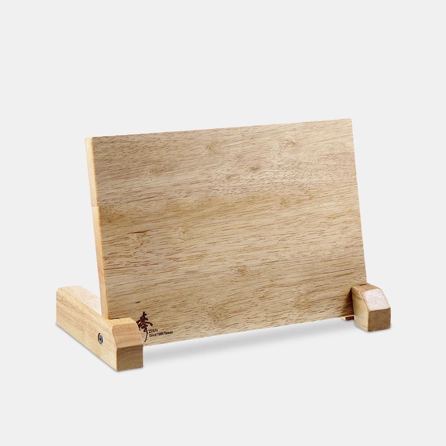 Zhen Magnetic Rubberwood Knife Block