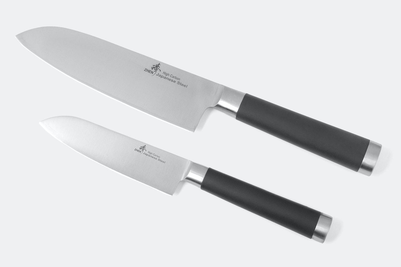Zhen Santoku Knife Set