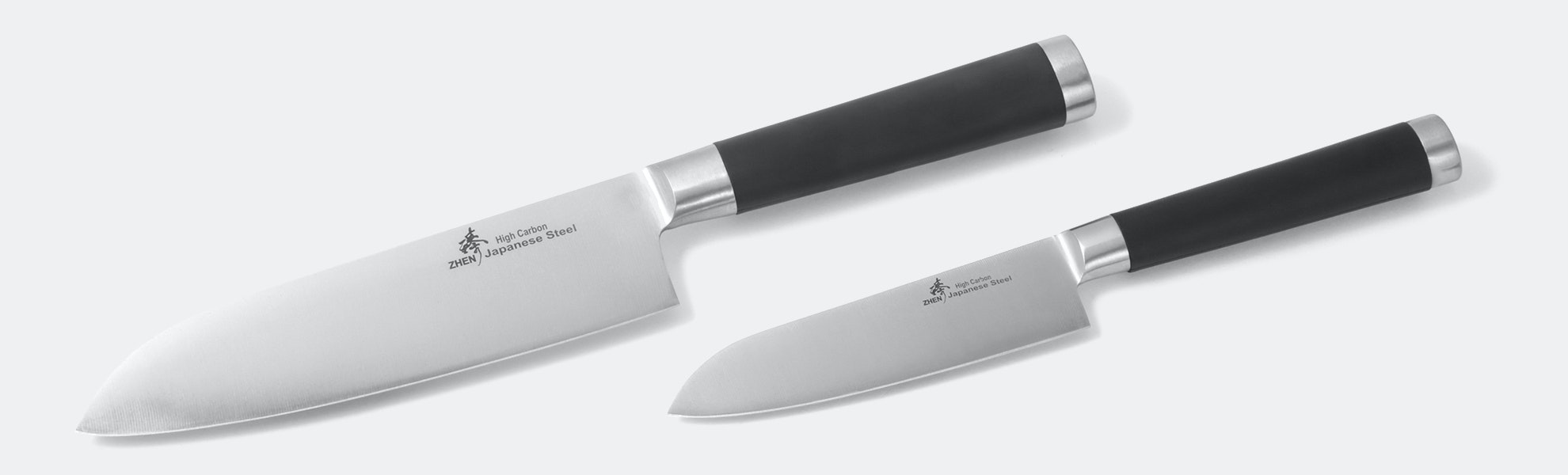 Zhen Santoku Knife Set