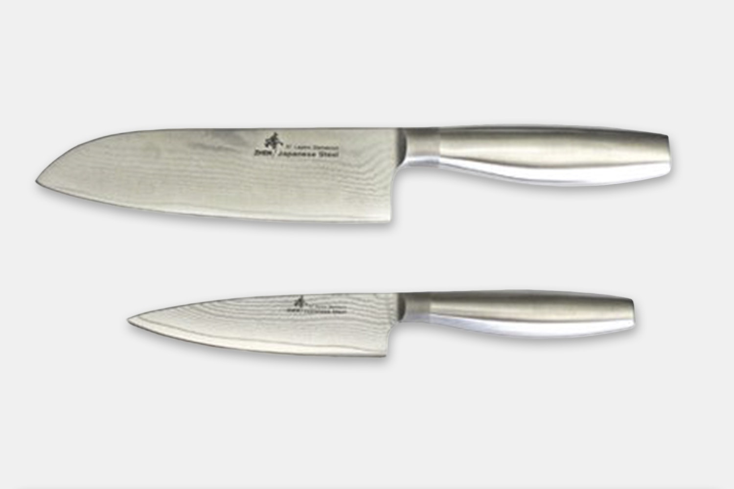 D15S - 2 Pc Santoku Set - VG-10 67 Layers Damascus Steel  (+$27)