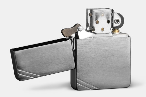 Zippo Lighters 1935 Replica Brushed Chrome Price