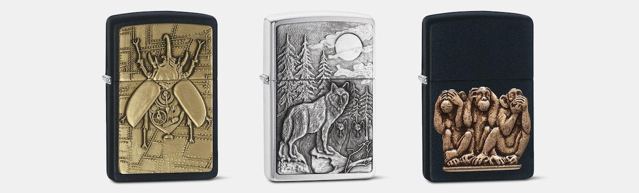 zippo lighters animal collection price reviews massdrop