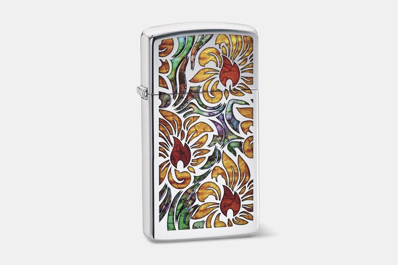 Chrome Fusion Floral Flames (+$4)