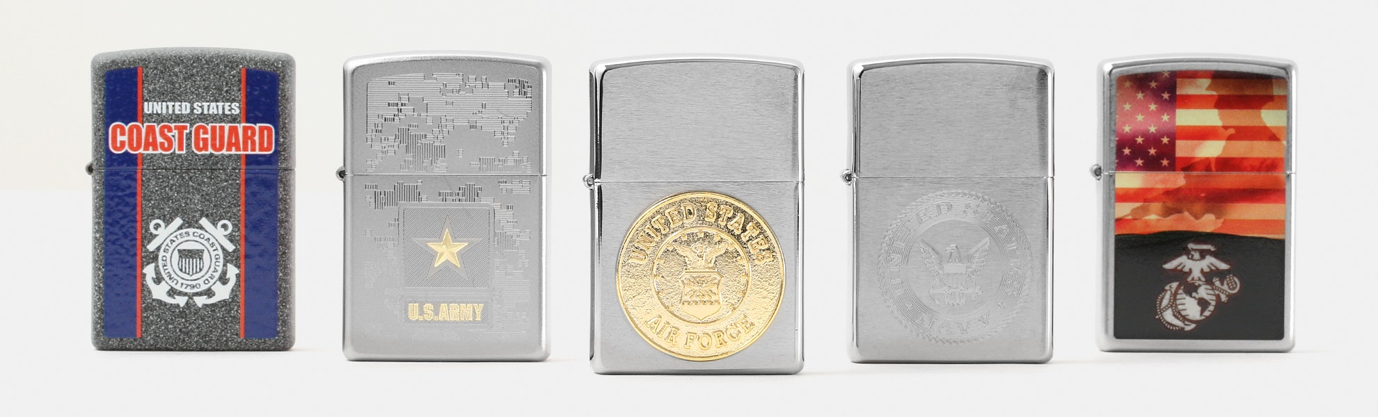 Zippo Lighters: US Armed Forces Collection