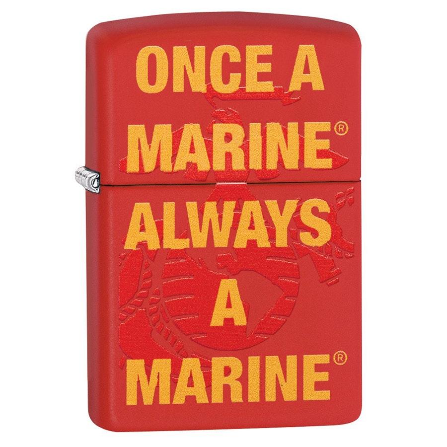 USMC Once A Marine (+ $3)