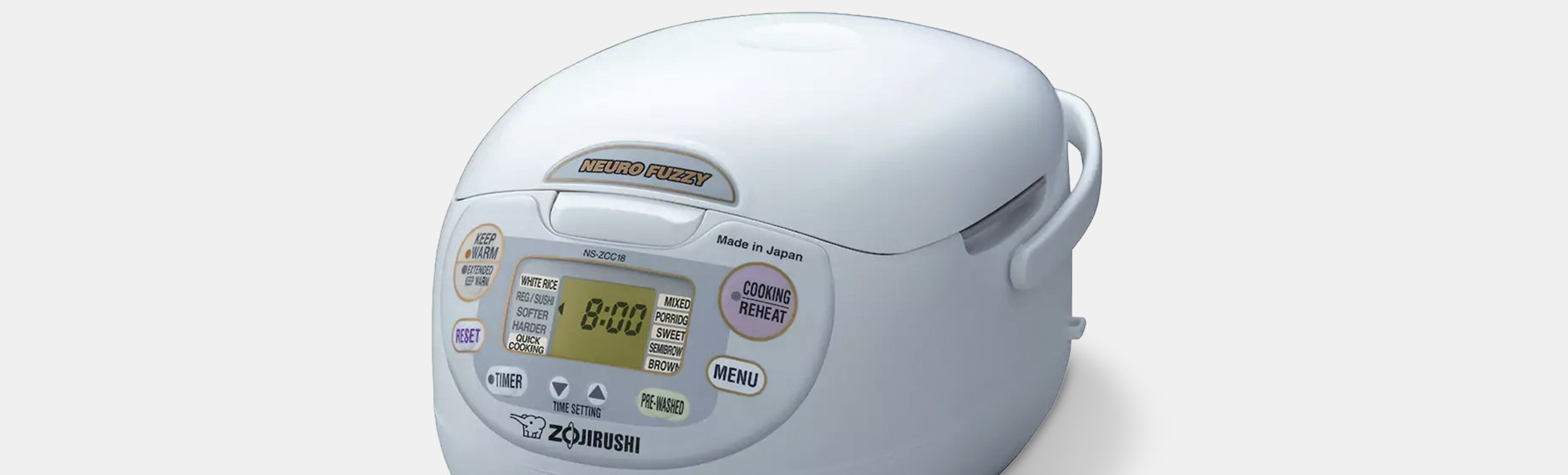 Zojirushi Neuro Fuzzy Rice Cooker 1L (NS-ZCC10)