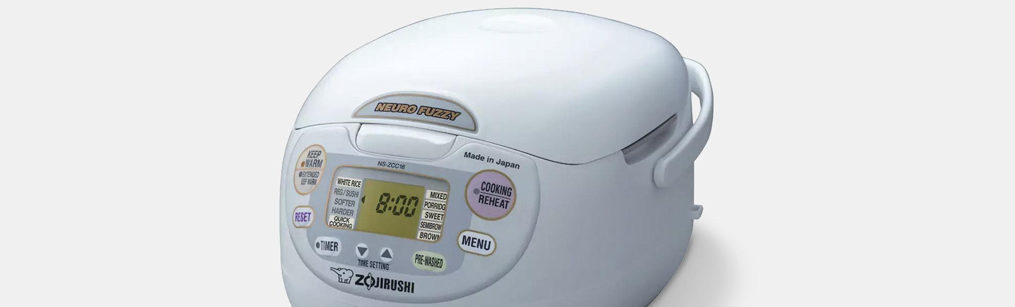 Zojirushi Neuro Fuzzy Rice Cooker 1L (NS-ZCC10)