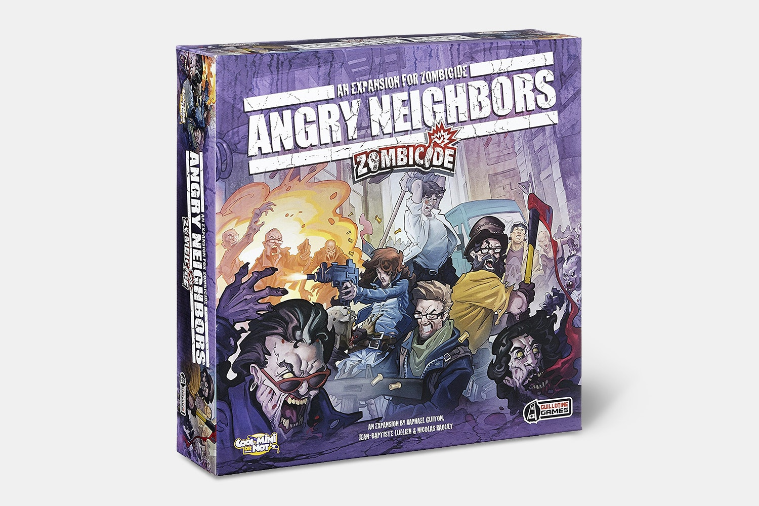 Zombicide Angry Neighbors Expansion