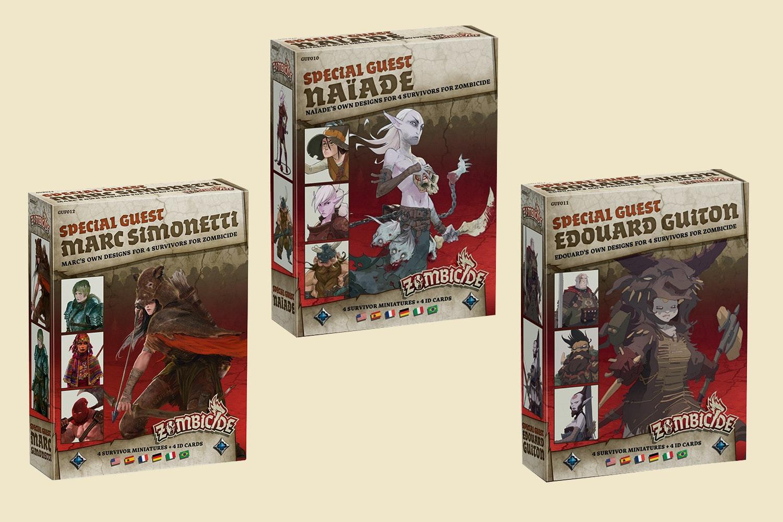 Zombicide Black Plague: Guest Bundle 2 Pre-Buy