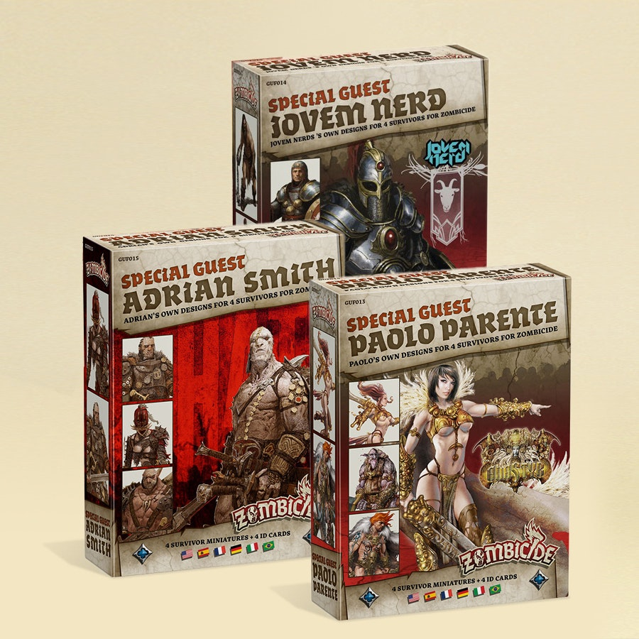 Zombicide Black Plague: Guest Bundle 3 Pre-Buy