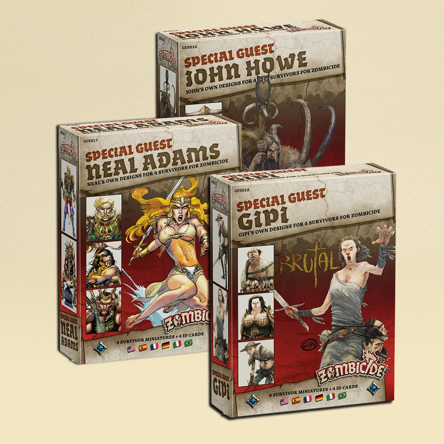 Zombicide Black Plague: Guest Bundle 4 Pre-Buy