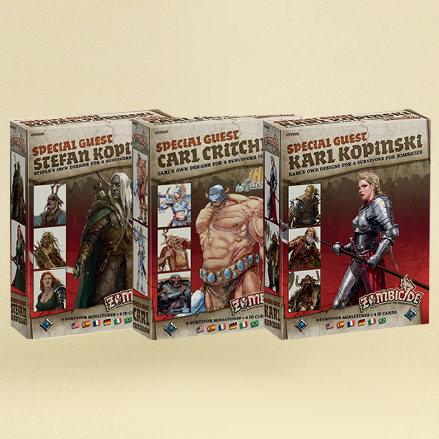 Zombicide Black Plague: Special Guest Bundle Prebuy