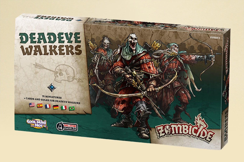 Zombicide Black Plague: Wulfsburg & Deadeye Walkers
