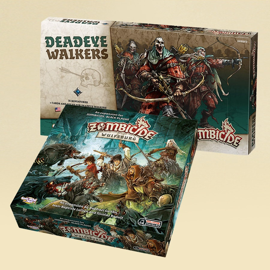 Zombicide Black Plague: Wulfsburg & Deadeye Walkers