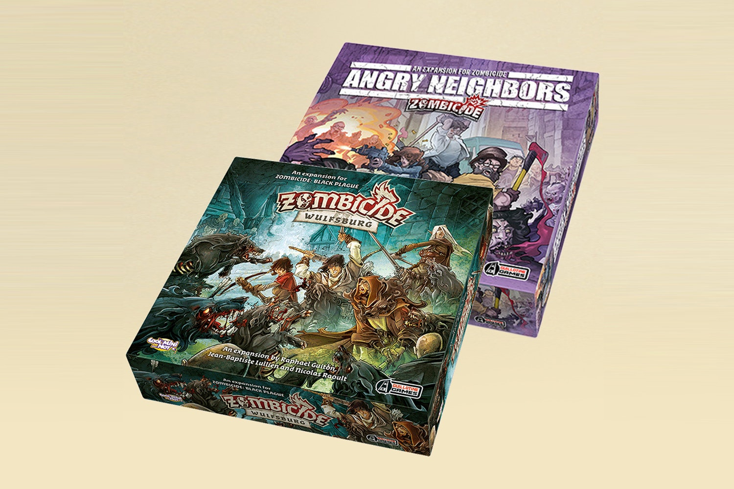 Zombicide: Wulfsburg & Angry Neighbors Expansions