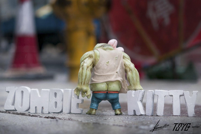 Zombie Kitty by Kaman WilIiam x ToyZeroPlus