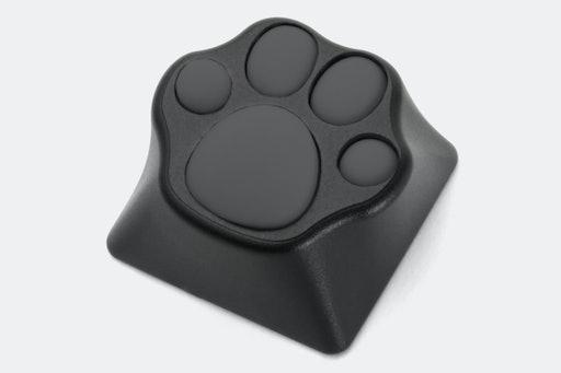 ZOMO Aluminum & Silicone Kitty Paw Artisan Keycap
