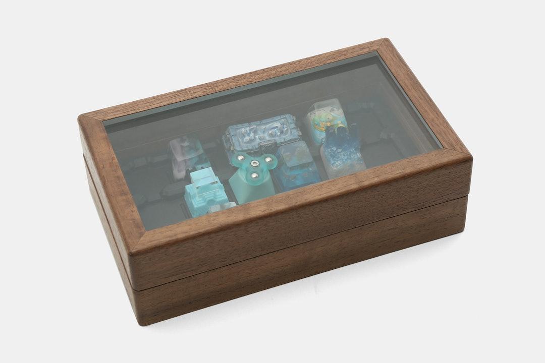 ZOMO Wood Artisan Keycap Collector Box