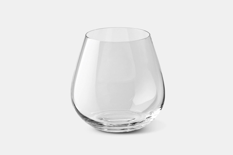 Whiskey/Stemless Red Glass – 20.4oz – 6-Piece Set (+$5)